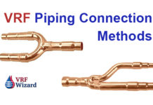 VRF Piping Connection Methods Zoomlock LokRing Refnet