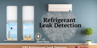 VRF Refrigerant Leak Detection