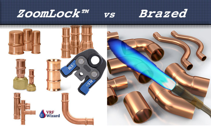 ZoomLock vs Brazed Fittings