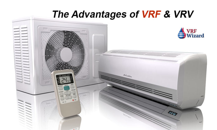 VRF VRV Advantages
