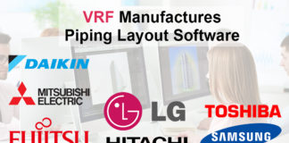 VRF Manufactures Piping Layout Software
