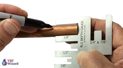 zoomlock depth gauge