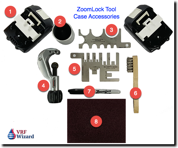 zoomlock tool case accessories