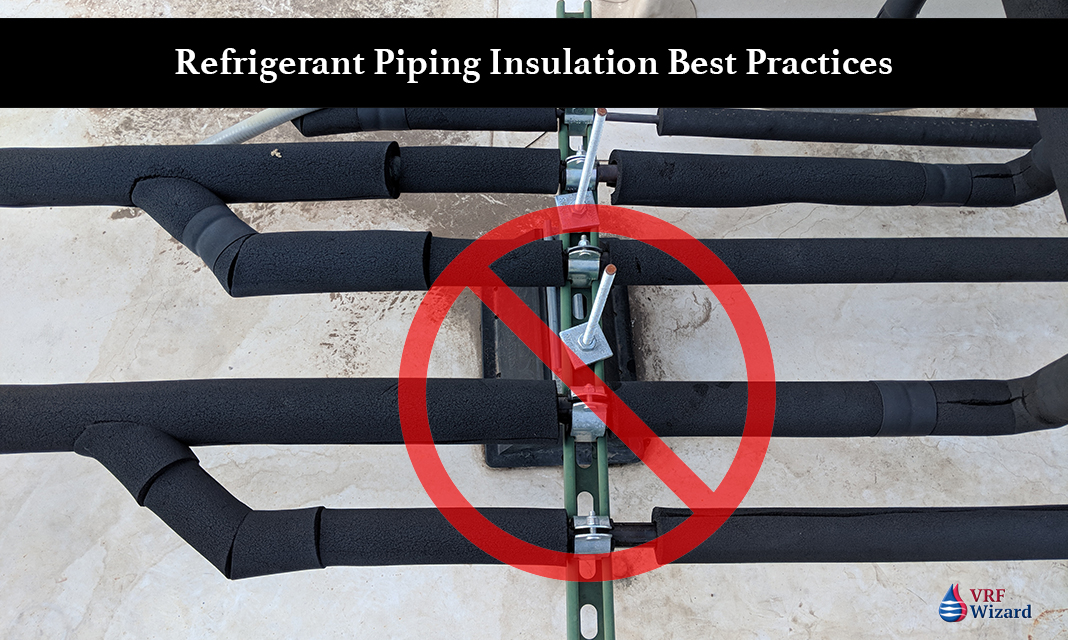 Refrigerant Piping Insulation Vrf Wizard Variable
